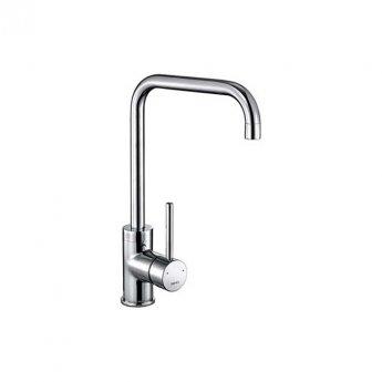 The 1810 Company Cascata Square Spout Kitchen Sink Mixer Tap - Chrome