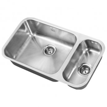 The 1810 Company Etroduo 535/191U 1.5 Bowl Kitchen Sink - Left Handed