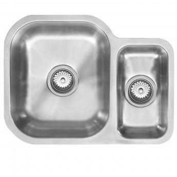 The 1810 Company Etroduo 589/450U 1.5 Bowl Kitchen Sink - Left Handed