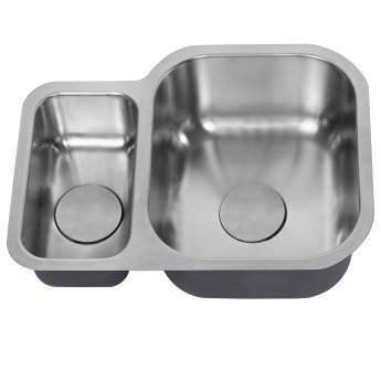 The 1810 Company Etroduo 589/450U 1.5 Bowl Kitchen Sink - Right Handed