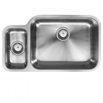 The 1810 Company Etroduo 781/450U 1.5 Bowl Kitchen Sink - Right Handed
