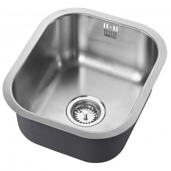 The 1810 Company Etrouno 340U 1.0 Bowl Kitchen Sink - Stainless Steel