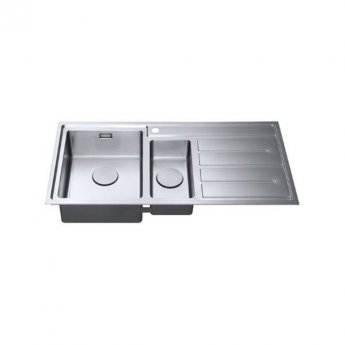 The 1810 Company Forzaduo 150i 1.5 Bowl Kitchen Sink - Left Handed
