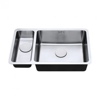 The 1810 Company Luxsoplusduo25 180/500U 1.5 Bowl Kitchen Sink - Right Handed