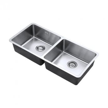 The 1810 Company Luxsoplusduo25 450/450U 2.0 Bowl Kitchen Sink - Stainless Steel