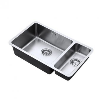 The 1810 Company Luxsoplusduo25 500/180U 1.5 Bowl Kitchen Sink - Left Handed
