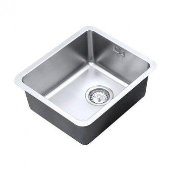 The 1810 Company Luxsoplusuno25 340U 1.0 Bowl Kitchen Sink - Stainless Steel