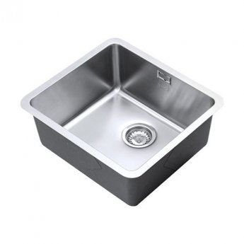 The 1810 Company Luxsoplusuno25 450U 1.0 Bowl Kitchen Sink - Stainless Steel
