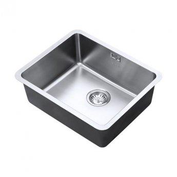 The 1810 Company Luxsoplusuno25 500U 1.0 Bowl Kitchen Sink - Stainless Steel