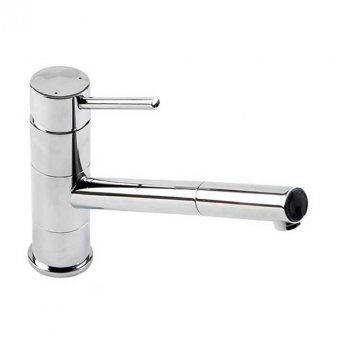 The 1810 Company Pluie Angled Spout Kitchen Sink Mixer Tap - Chrome