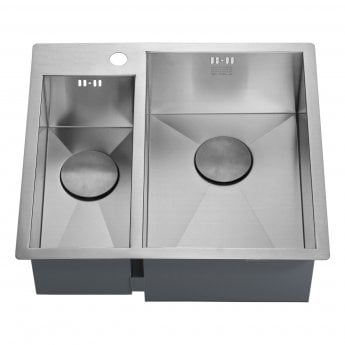 The 1810 Company Zenduo 180/310 I-F 1.5 Bowl Kitchen Sink - Right Hand