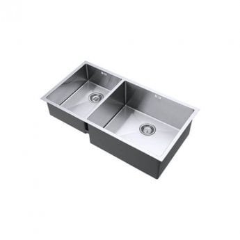 The 1810 Company Zenduo15 550/340 XXL DEEP 2.0 Bowl Kitchen Sink - Right Handed