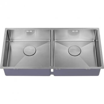 The 1810 Company Zenduo15 400/400U 2.0 Bowl Kitchen Sink - Stainless Steel