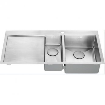 The 1810 Company Zenduo15 6 I-F 1.5 Bowl Kitchen Sink - Right Handed