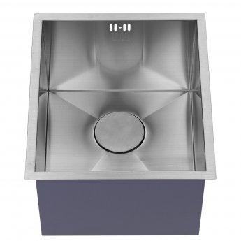 The 1810 Company Zenuno 340U DEEP 1.0 Bowl Kitchen Sink - Stainless Steel