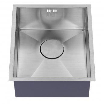 The 1810 Company Zenuno 340U 1.0 Bowl Kitchen Sink - Stainless Steel