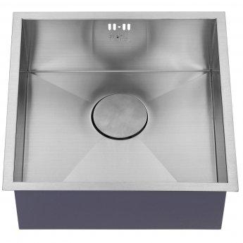 The 1810 Company Zenuno 400U 1.0 Bowl Kitchen Sink - Stainless Steel