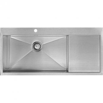 The 1810 Company Zenuno 70 I-F DEEP 1.0 Bowl Kitchen Sink - Left Hand