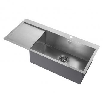 The 1810 Company Zenuno 70 I-F DEEP 1.0 Bowl Kitchen Sink - Right Hand