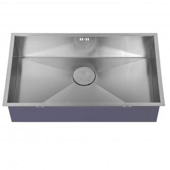The 1810 Company Zenuno 700U 1.0 Bowl Kitchen Sink - Stainless Steel