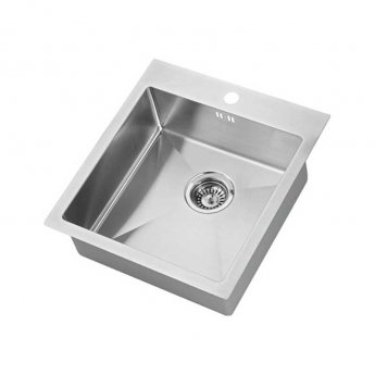 The 1810 Company Zenuno15 400 I-F 1.0 Bowl Kitchen Sink - Stainless Steel
