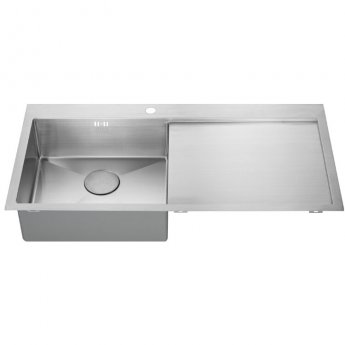 The 1810 Company Zenuno15 5 I-F 1.0 Bowl Kitchen Sink - Left Handed