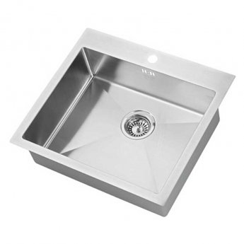 The 1810 Company Zenuno15 500 I-F 1.0 Bowl Kitchen Sink - Stainless Steel
