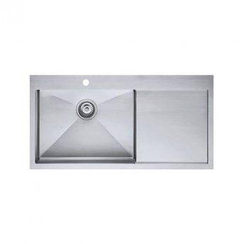 The 1810 Company Zenuno15 55 I-F 1.0 Bowl Kitchen Sink - Left Handed