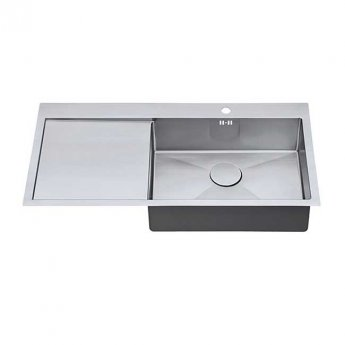 The 1810 Company Zenuno15 55 I-F 1.0 Bowl Kitchen Sink - Right Handed