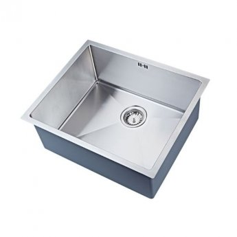 The 1810 Company Zenuno15 550U XXL DEEP 1.0 Bowl Kitchen Sink - Stainless Steel