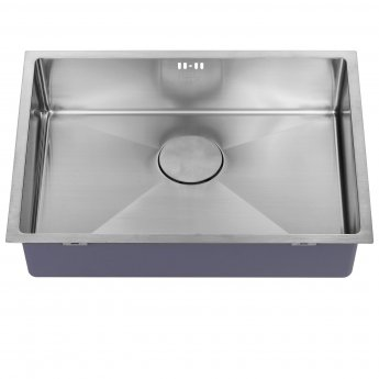 The 1810 Company Zenuno15 550U 1.0 Bowl Kitchen Sink - Stainless Steel