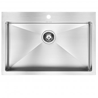 The 1810 Company Zenuno15 70 I-F 1.0 Bowl Kitchen Sink - Stainless Steel