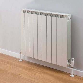 TRC Mix Radiator 390mm High x 820mm Wide, 10 Sections, White