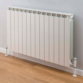 TRC Mix Radiator 390mm High x 1140mm Wide, 14 Sections, White
