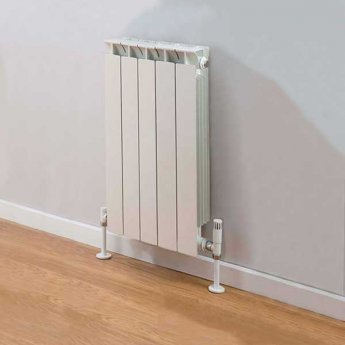 TRC Mix Radiator 390mm High x 420mm Wide, 5 Sections, White