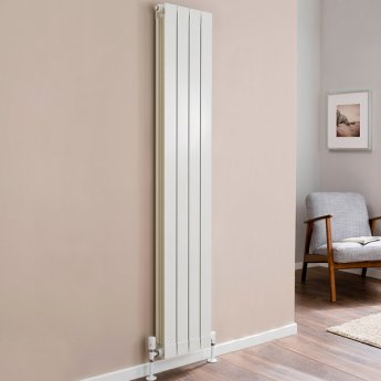 TRC Oscar Radiator 1046mm High x 340mm Wide, 4 Sections, White