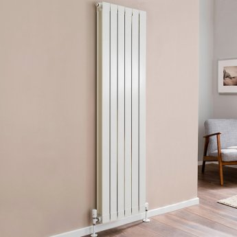TRC Oscar Radiator 1046mm High x 500mm Wide, 6 Sections, White