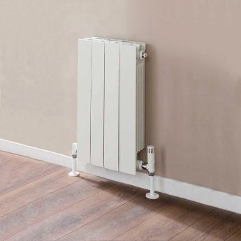 TRC VIP Radiator 440mm High x 340mm Wide, 4 Sections, White