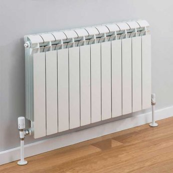 TRC Vox Radiator 440mm High x 900mm Wide, 11 Sections, White