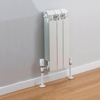 TRC Vox Radiator 440mm High x 260mm Wide, 3 Sections, White