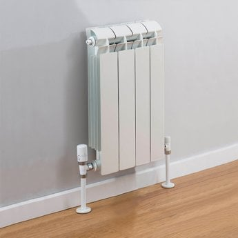 TRC Vox Radiator 440mm High x 340mm Wide, 4 Sections, White