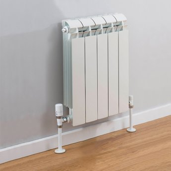 TRC Vox Radiator 440mm High x 420mm Wide, 5 Sections, White