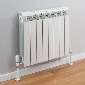 TRC Vox Radiator 440mm High x 660mm Wide, 8 Sections, White
