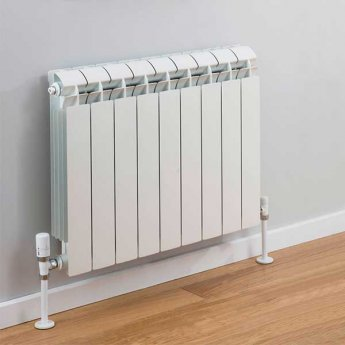 TRC Vox Radiator 440mm High x 740mm Wide, 9 Sections, White