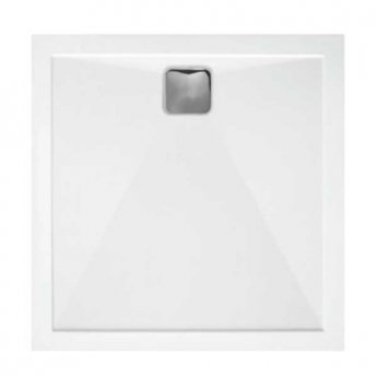 TrayMate TM25 Elementary Square Shower Tray 700mm x 700mm - White