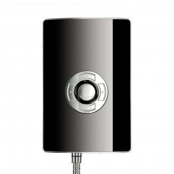 Triton Aspirante Electric Shower 8.5 kW - Black Gloss