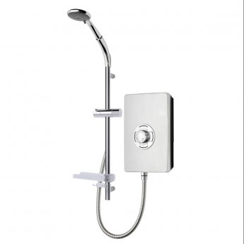 Triton Aspirante Enhance Electric Shower 8.5kw - Brushed Steel