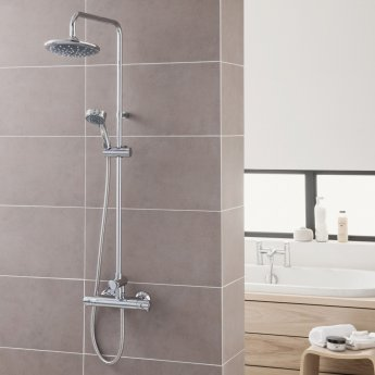 Triton Dene Diverter Bar Mixer Shower with Fast-fit Brackets