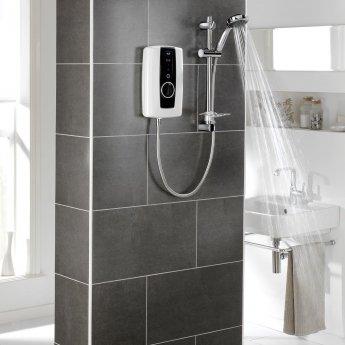 Triton Touch Electric Shower 8.5kW - White/Black