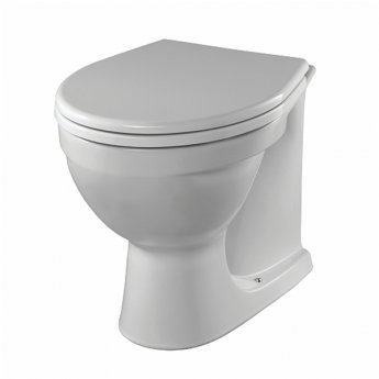 Twyford Alcona Back to Wall Toilet WC - Soft Close Seat